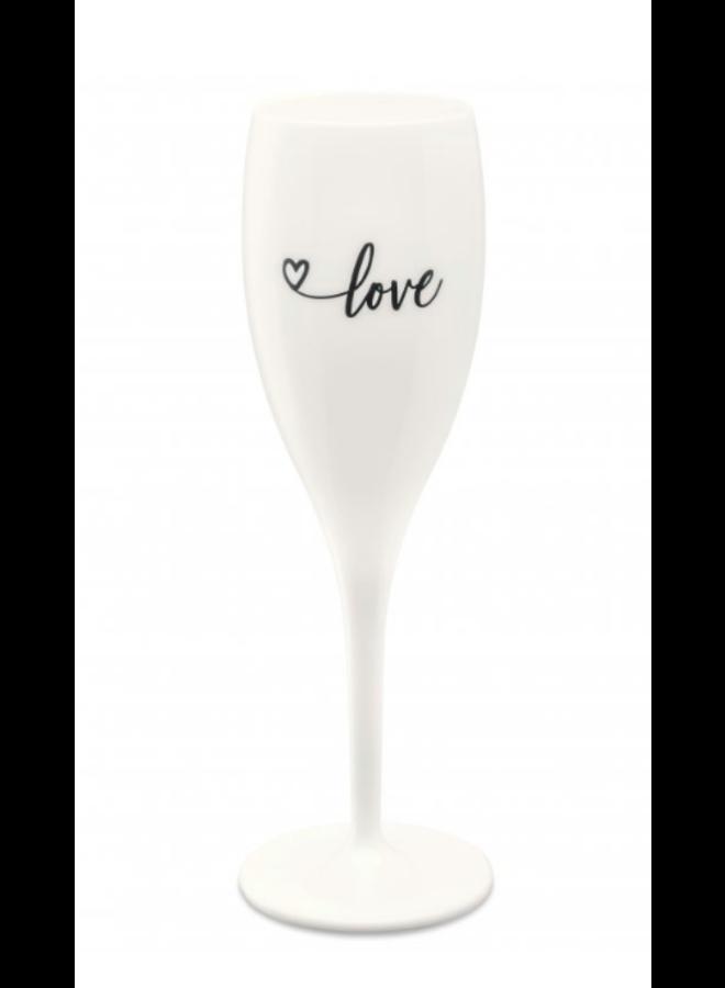 "Koziol Champagneglas ""Love 2.0"""