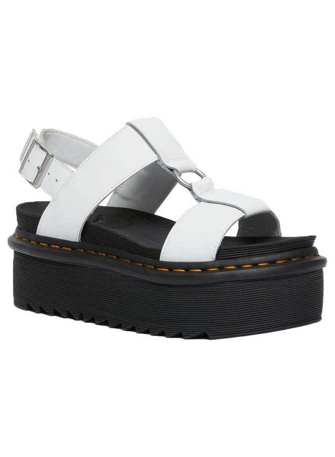 Dr. Martens 26525100 Francis White Hydro Leather