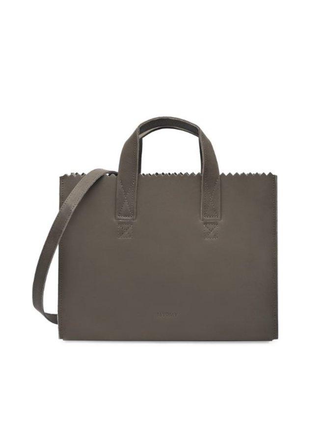 Myomy 10671381 My Paper Bag Handbag cross-body Hunter Taupe