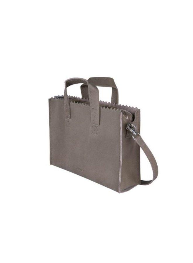 Myomy 10761381 My Paper Bag Handbag mini Hunter Taupe