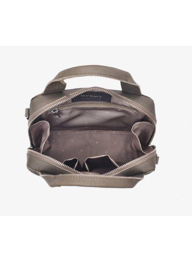 Myomy 1308-1381 Boxy Locker Hunter Taupe