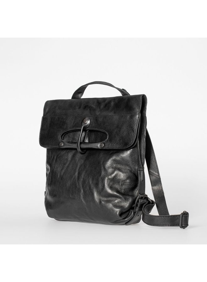 Aunts & Uncles Mrs. Mince Pie Black Smoke Backpack / Crossover bag