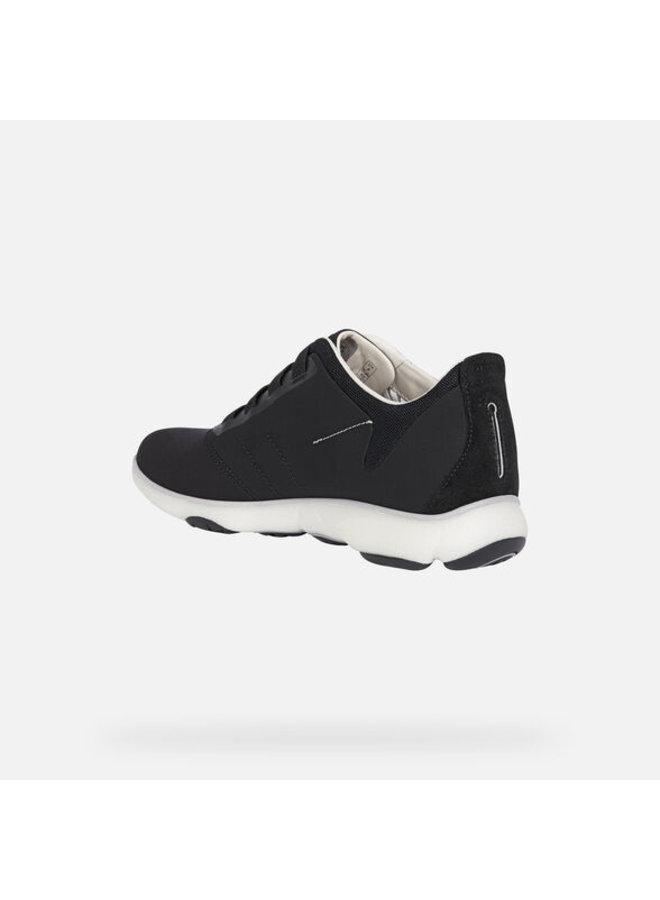 Geox nebula black sneaker casual sport