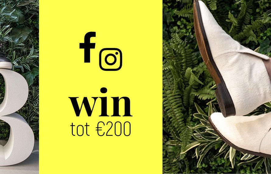 Win actie Facebook & Instagram