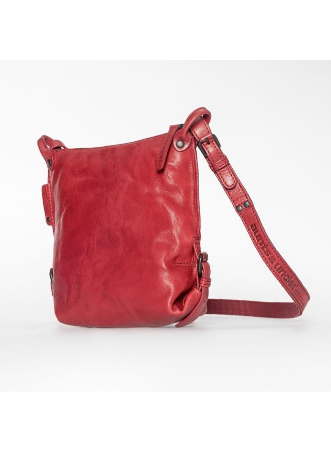 Aunts & uncles Mrs. Chocolate Cookie red Crossover bag