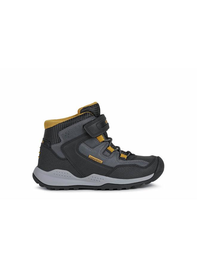 Geox J Teram Boy  Black/DK Yellow
