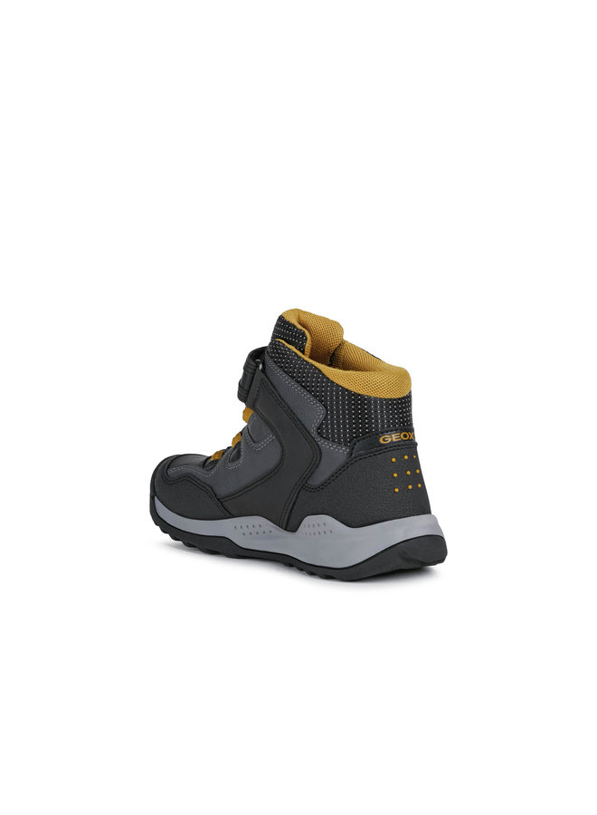 Geox J Teram Boy Junior Black/DK Yellow