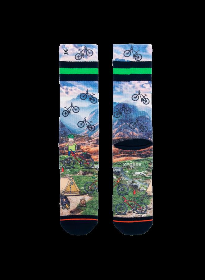 Xpooos socks luke mountain bike