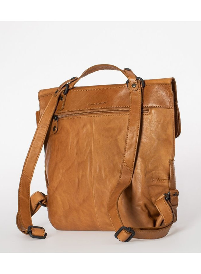 Aunts & uncles Mrs. Mince Pie caramel Backpack / Crossover bag