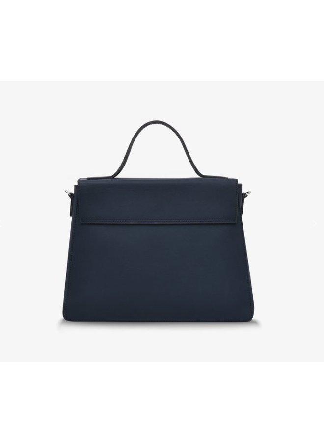 Myomy Rose Handbag Hunter Blue