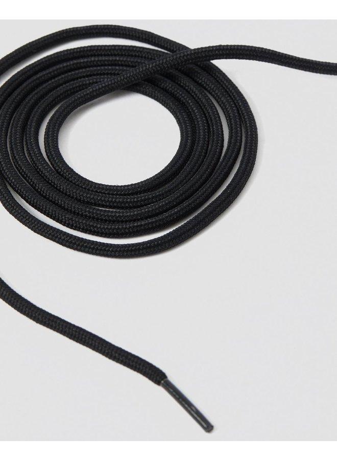 Dr. Martens Black round lace 140cm (8-10)