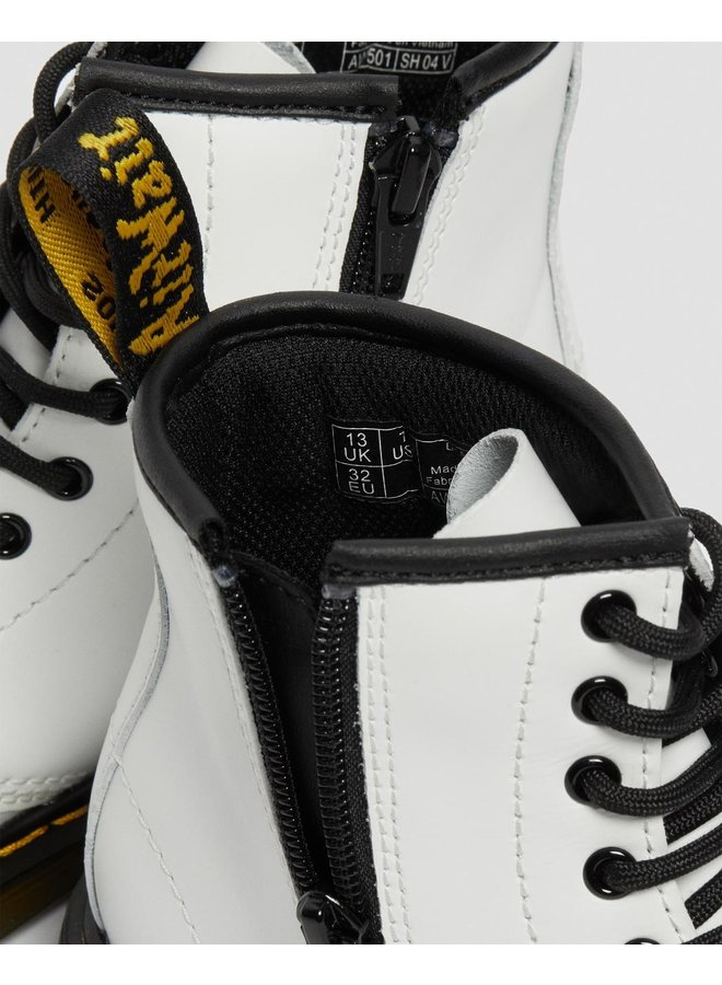 Dr. Martens 1460 J White Romario Smoother Finish