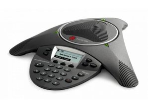 Polycom SoundStation IP6000 (SIP) met power adapter
