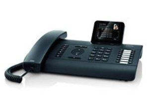 Gigaset pro DE700 IP PRO, Black VoIP deskphone with display