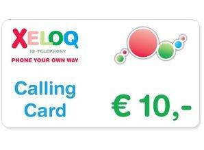 Belkaarten / Callingcards