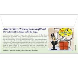 Briefumschlag Motiv 2: Heizungs-Check