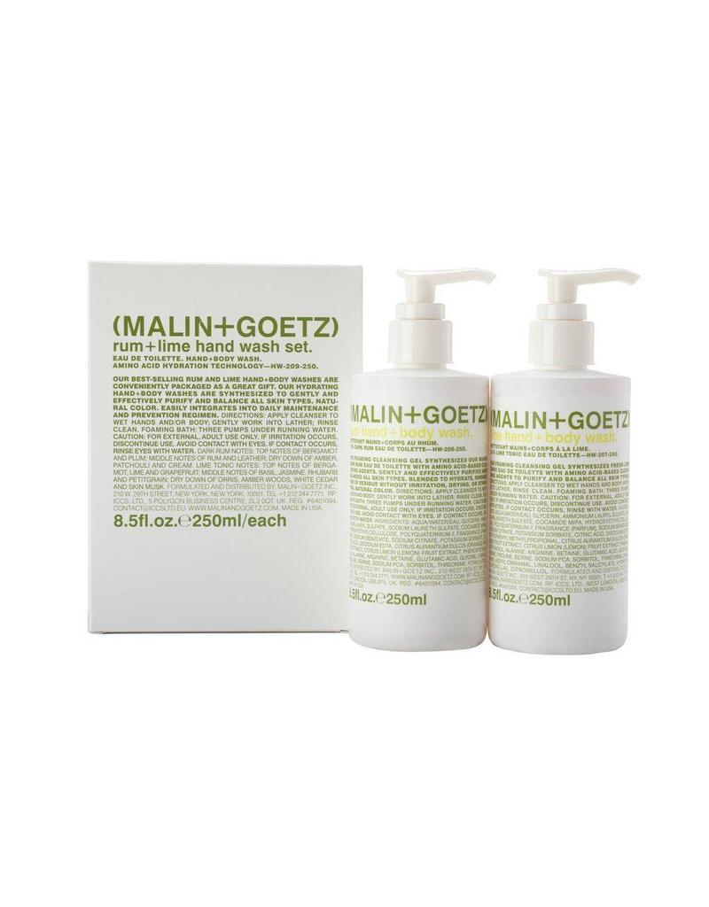 Malin+Goetz Malin + Goetz | Rum + Lime Hand Wash Set