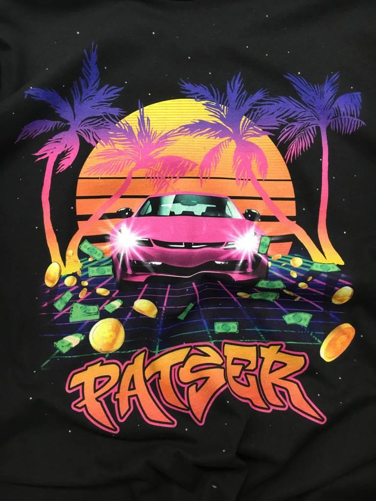 PATSER T-SHIRT ZWART