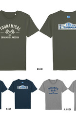TOURAMICAL DRIE T-SHIRTS: KHAKI, NAVY EN HEATHER GREY