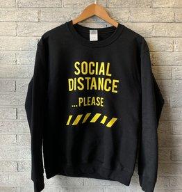 MYSHIRT SOCIAL DISTANCE  SWEATER