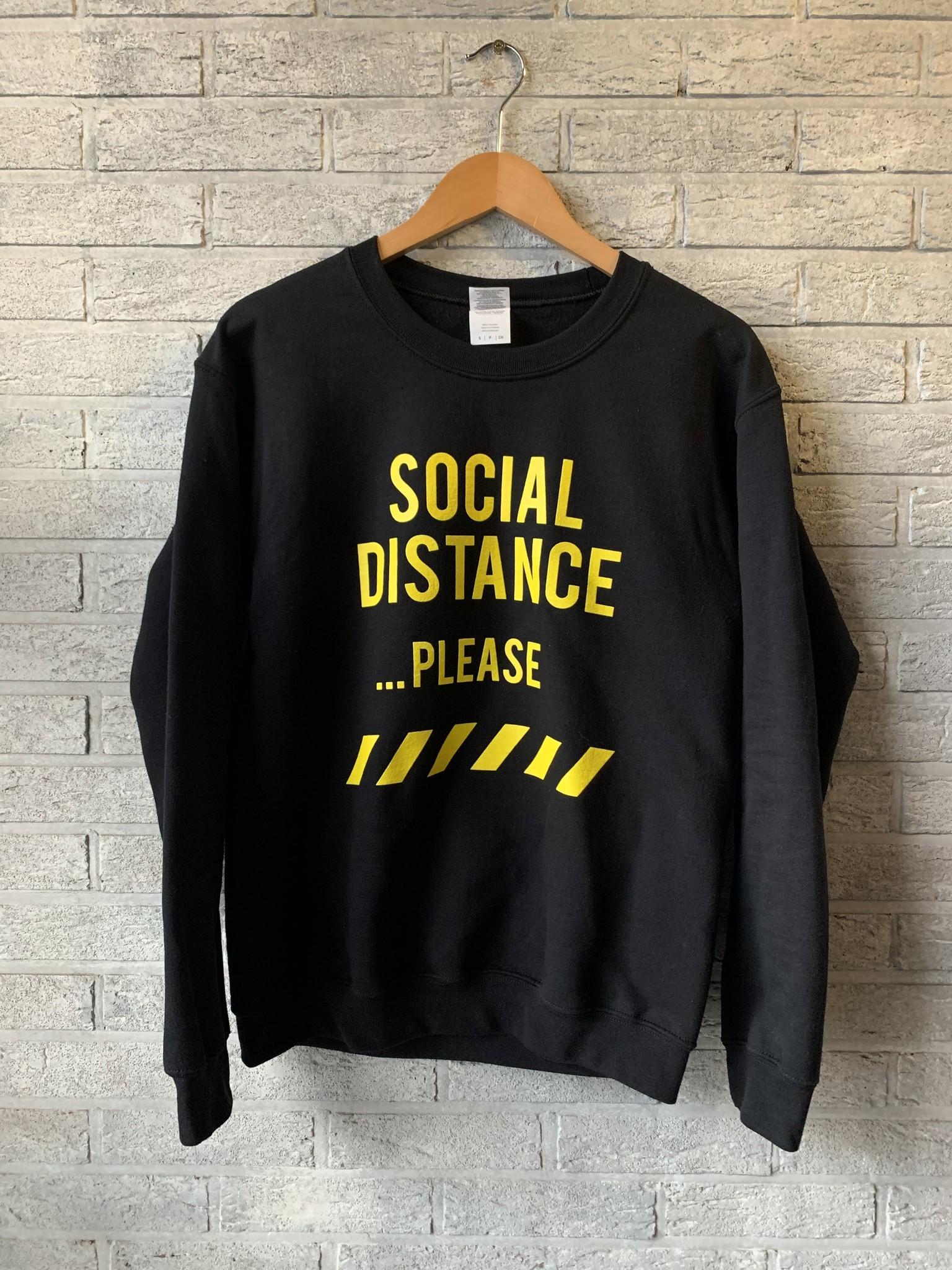 MYSHIRT SOCIAL DISTANCE SWEATSHIRT