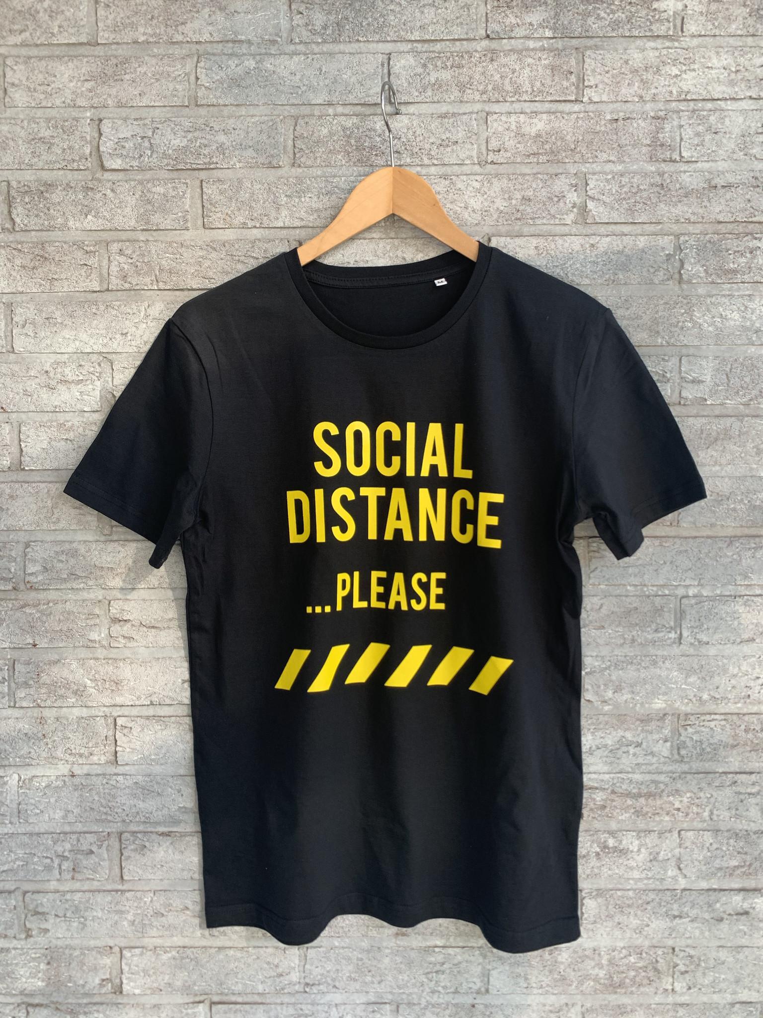 MYSHIRT SOCIAL DISTANCE T-SHIRT