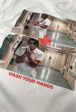 MYSHIRT HANDS T-SHIRT  WHITE