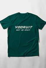 MYSHIRT VOORUIT MET DE SPUIT GAZED GREEN T-SHIRT