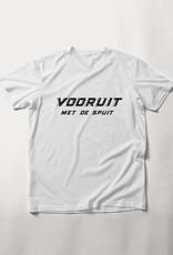 MYSHIRT VOORUIT MET  DE SPUIT T-SHIRT WHITE