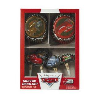 Cupcake Kit Disney Cars 48 st