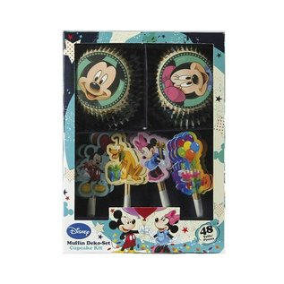 Cupcake Kit Mickey Mouse 48 st