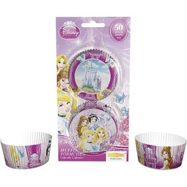Cupcake Baking Cups Disney Princess, 50 st