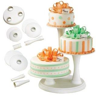 Wilton Wilton 3 Tier Pillar Cake Stand