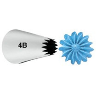 Wilton Wilton Decorating Tip #4B Open Star Carded