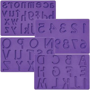 Wilton Wilton Mold Letters/Numbers set/4