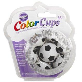 Wilton Wilton ColorCups Baking Cups Soccer pk/36
