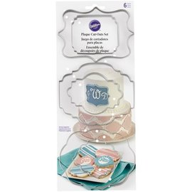 Wilton Wilton Cut-Outs -Plaque- Set/6