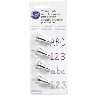 Wilton Wilton Decorating Tip Set Writing #3, #55, #13, #44