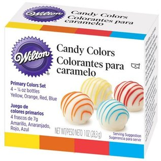 Wilton Wilton Candy Colors 4 x 7g (Oil based)