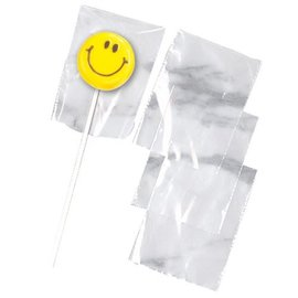 Wilton Wilton Lollipop Bags Clear pk/50