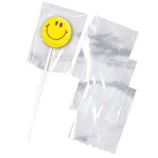 Wilton Wilton Lollipop Bags Clear pk/50