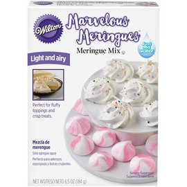 Wilton Wilton Marvelous Meringues Vanilla Mix 184g