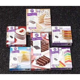 Wilton Wilton Cake Pan Easy Layers #ikwilzeallemaal set 6