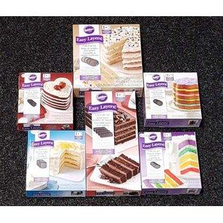 Wilton Wilton Cake Pan Easy Layers #ikwilzeallemaal set 6
