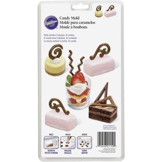 Wilton Wilton Candy Mold Dessert Accents