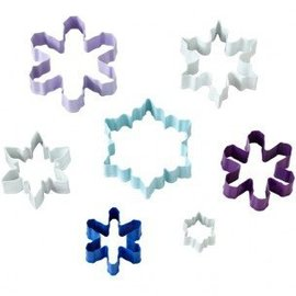 Wilton Wilton Cookie Cutter Assorted Snowflake set/7