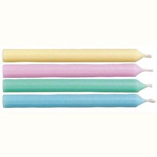 Wilton Wilton Candles Round Soft Colors pk/24