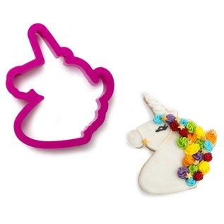 Decora Decora Uitsteker Unicorn Eenhoorn hoofd hardroze