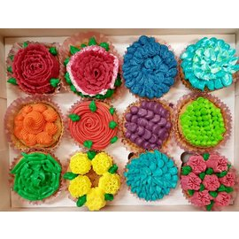 Workshop CupCakes Opspuiten di 24 sept 19.00-21.00u