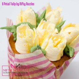 Sugar and Crumbs Sugar and Crumbs Nifty Nozzle -6 Petal Tulip-